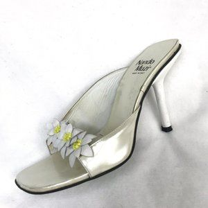 Nando Muzi Italian made patent leather sandals